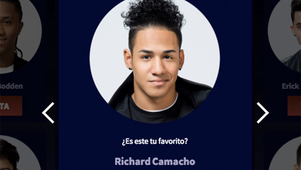 Contestant Richard Camacho
