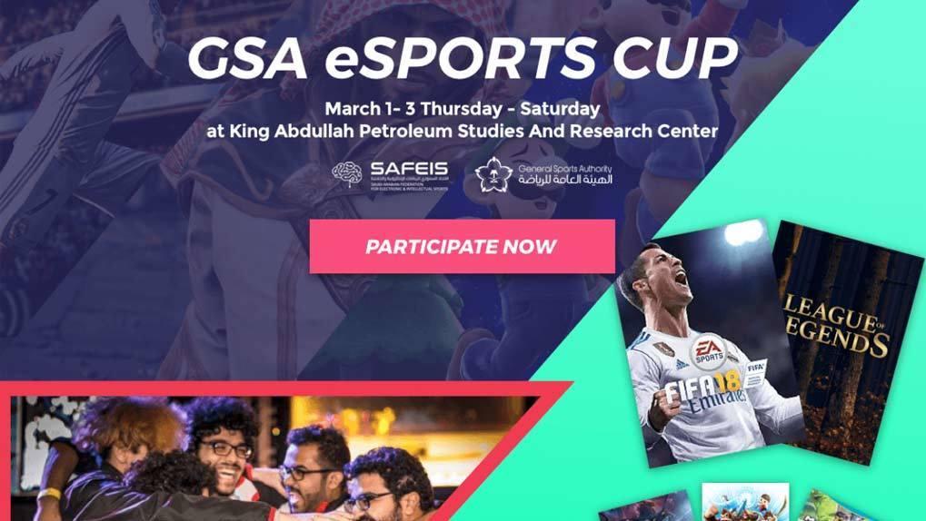 Desktop view of eSports CTA to watch live streams