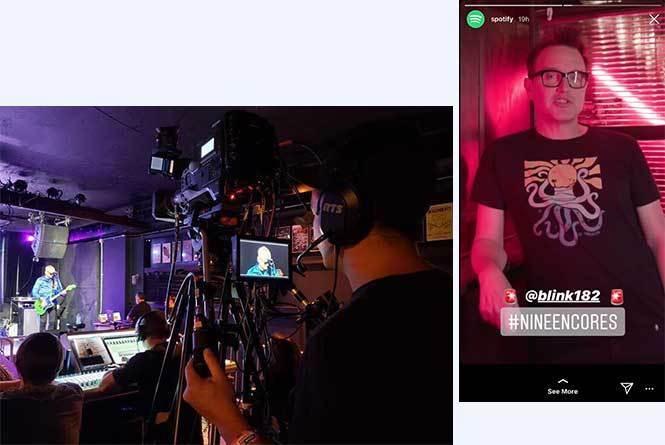 Mark Hoppus promo & behind the scene camera