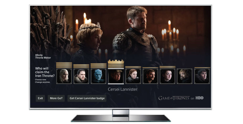 Game of Thrones Set Top Box Polling