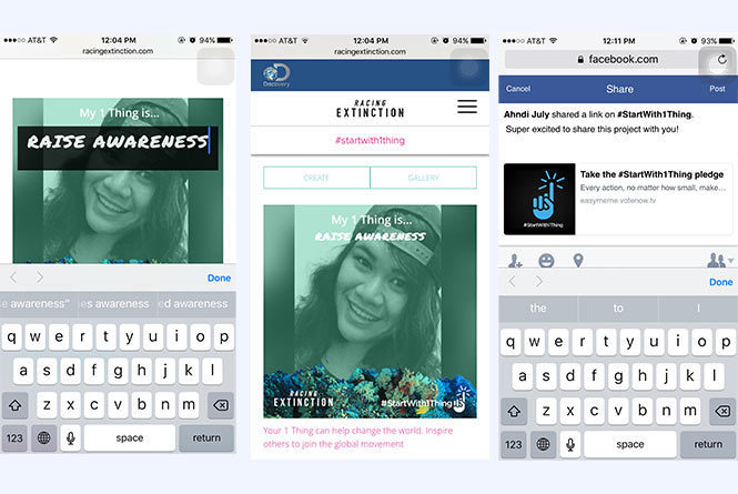utilizing uPic and sharing it with social platforms