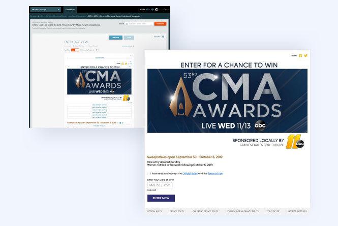 CMA Sweepstakes ticket give away