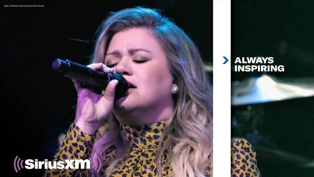 Kelly Clarkson in XM promo