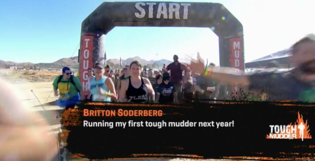 tough mudder start line with user comment