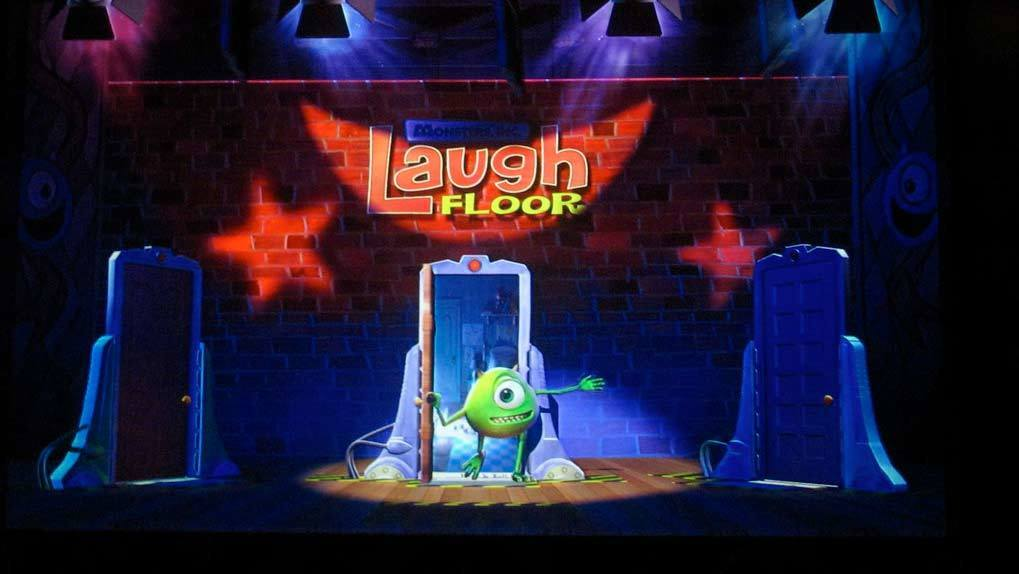 Laugh Floor Monster Inc Image