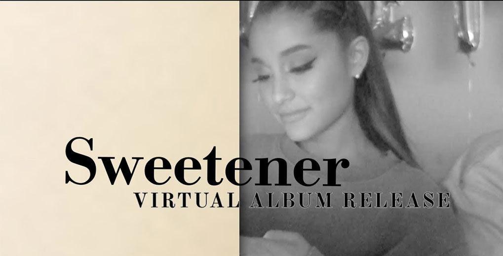 Sweetener Virtual Album Release Livestream