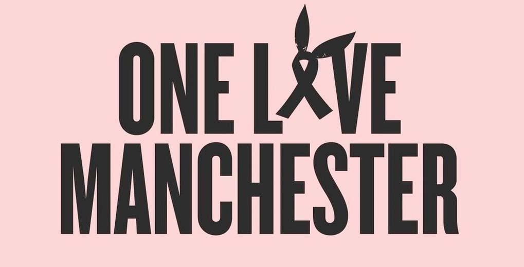 Pink One Love Manchester with Ariana Grande Logo