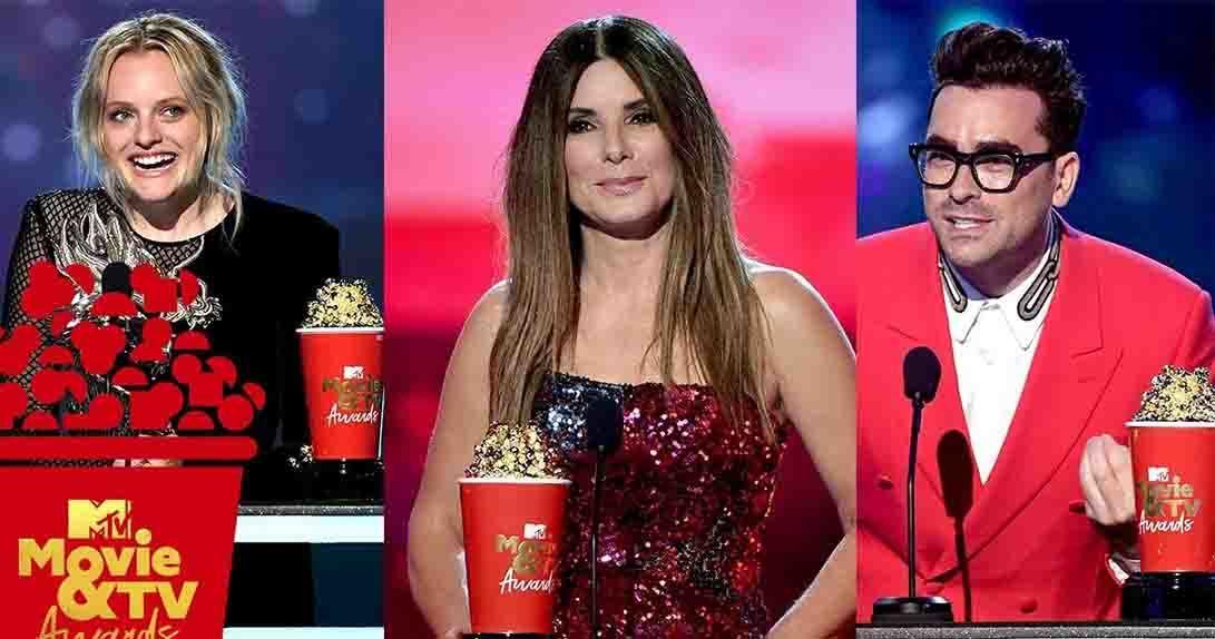 Actors with MTV trophies - Elizabeth Moss