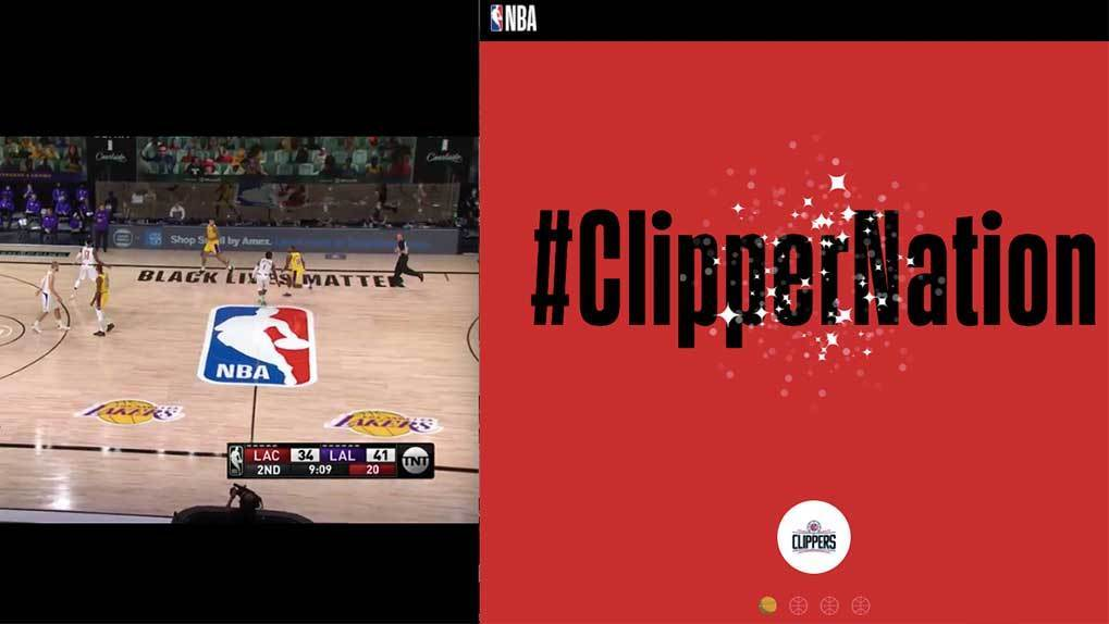 clippers tap to cheer