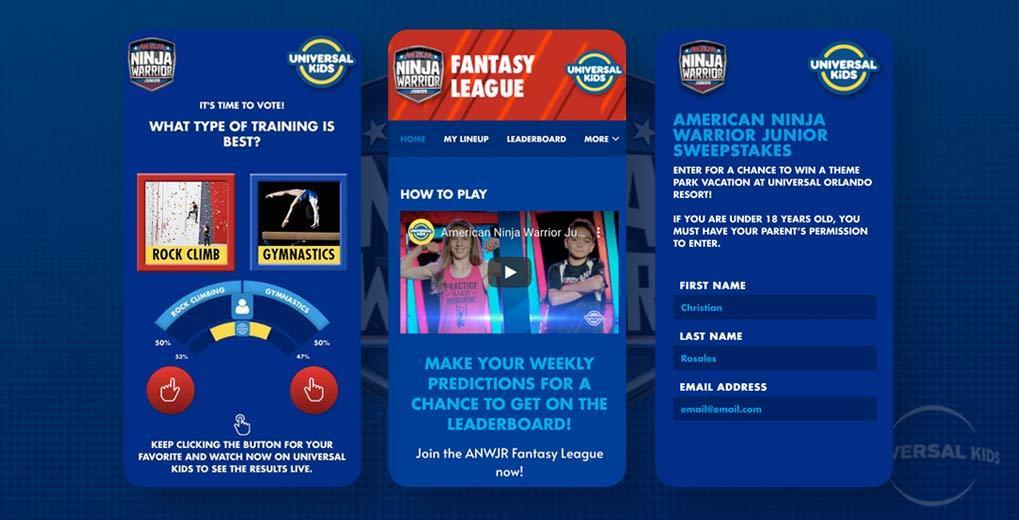 image of the passion meter, fantasy league and sweepstakes