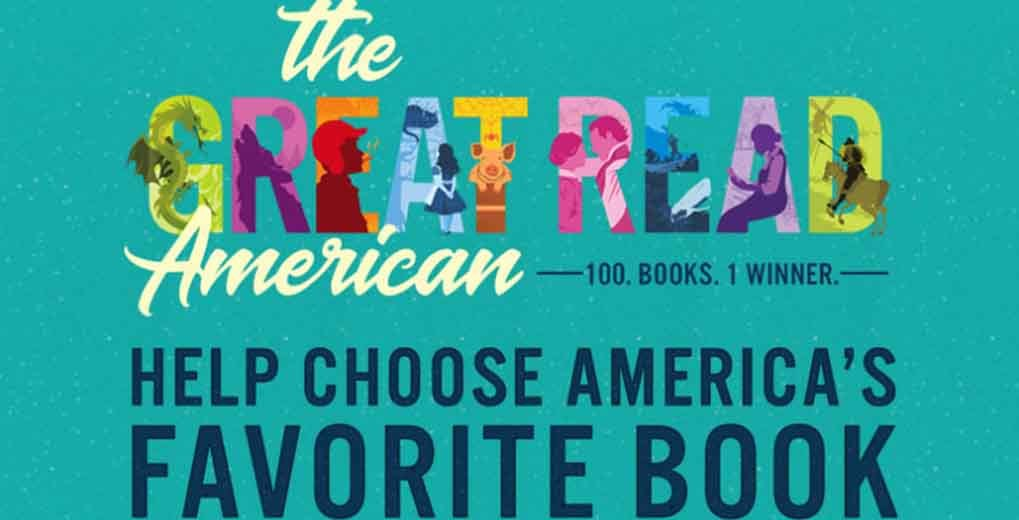 PBS Promo calling to help choose America's Favorite Book