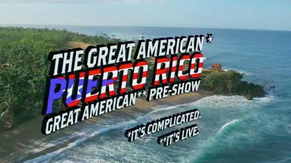 Pre Show promo graphic