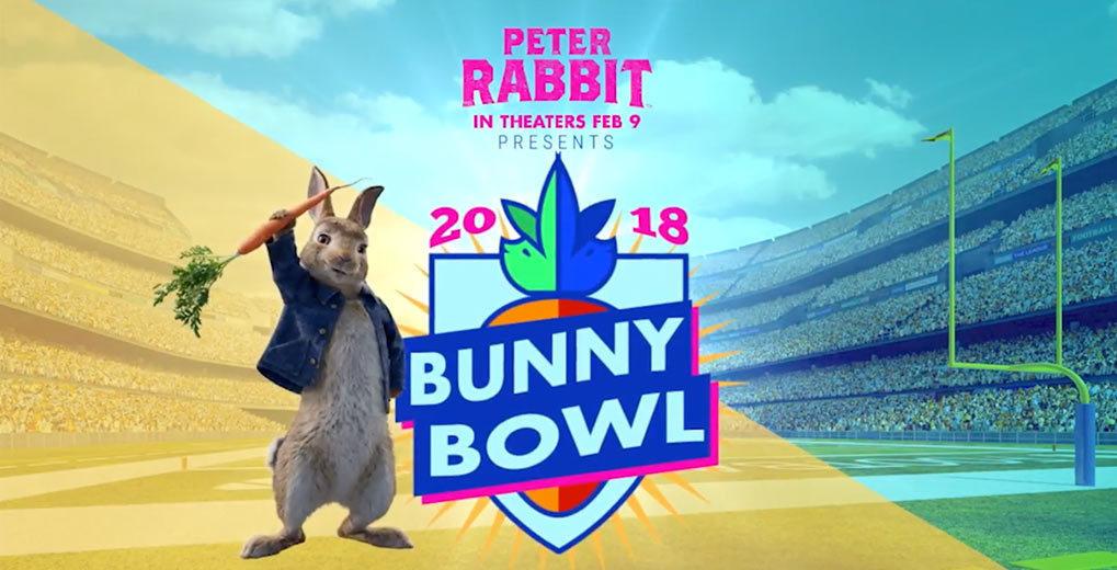 Peter Rabbit Bunny Bowl 2018 poster