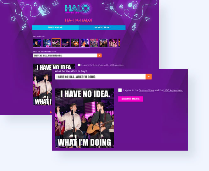 Halo awards easy meme
