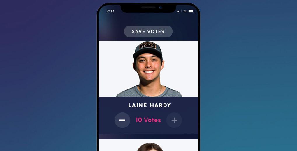 in native app vote experience