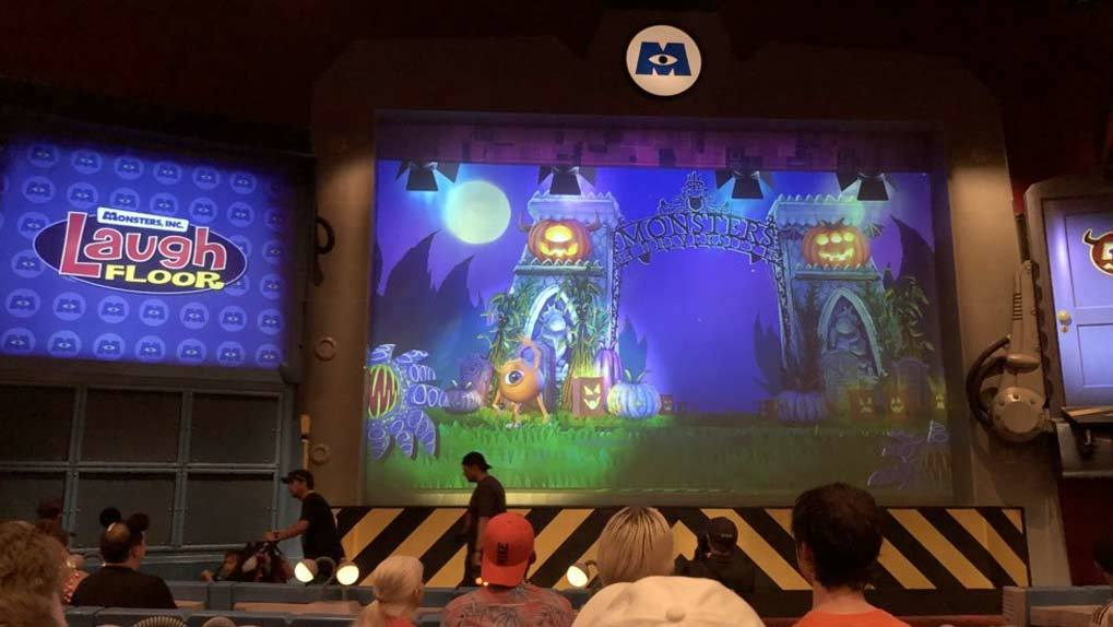 Monsters Inc. Laugh Floor Big Screens