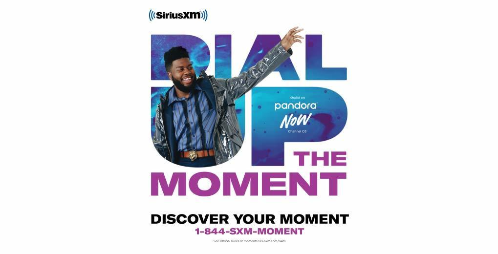 Dial Up The Moment promotion image with toll free number to call