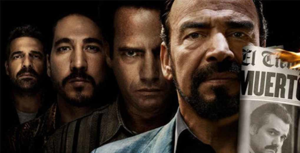 Narcos season 3 actors promo shot