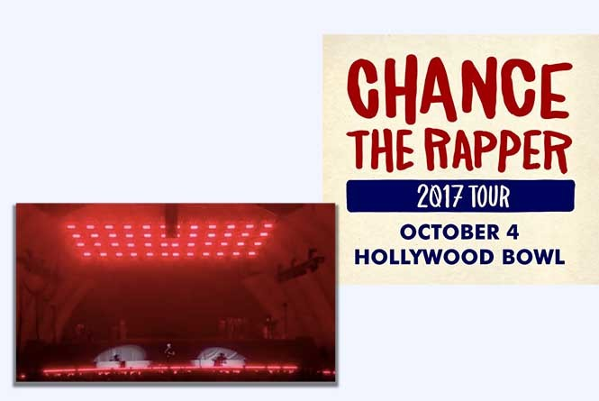 Chance the Rapper at Hollywood Bowl promo
