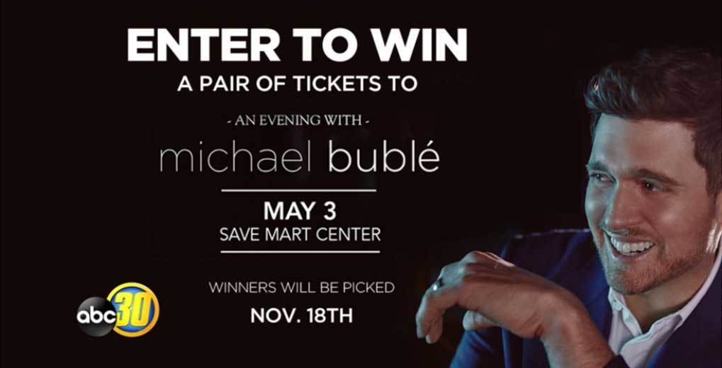 Michael Buble sweepstakes