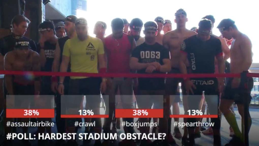 hashtag poll hardest obstacle