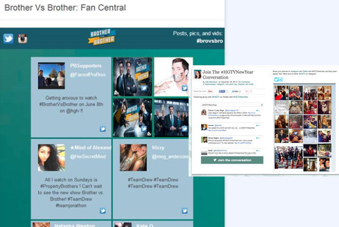 Fan Feed and Twitter Aggregator