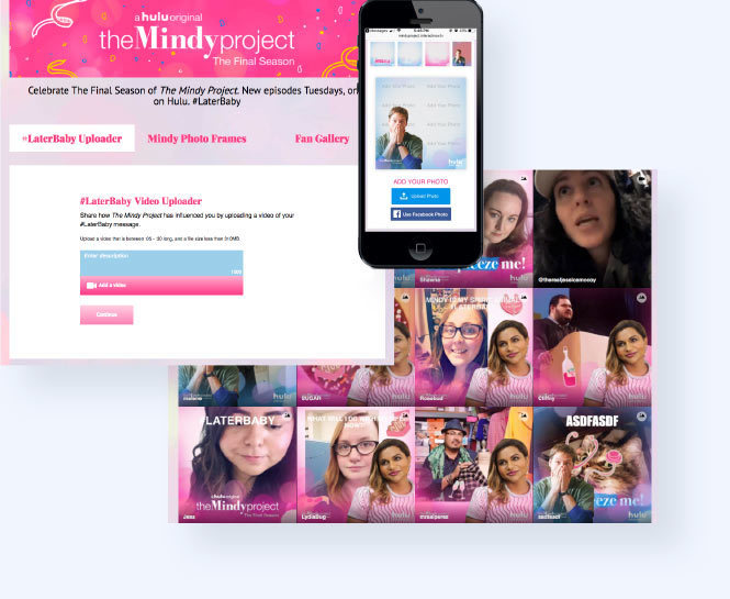 The Mindy Project Custom Hub with uPic and Fan Feed