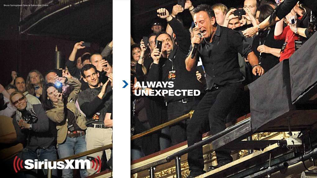 Bruce Springsteen in XM promo