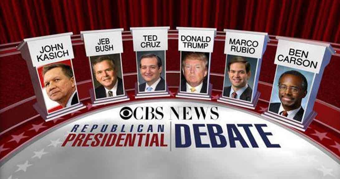 Debate promo featuring Republican Candidates