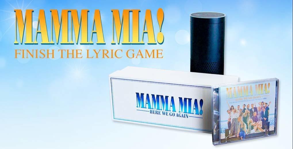 Mamma Mia soundtrack with Alexa