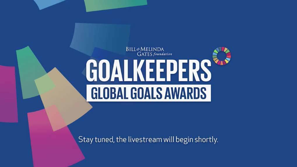 Goalkeepers Logo and Awards ceremony poster art
