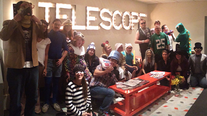 Team Telescope at Halloween Time