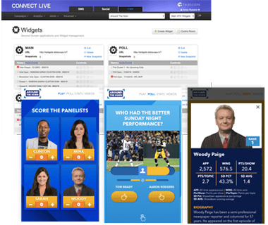 Telescope's Connect Platform with Around the Horn application
