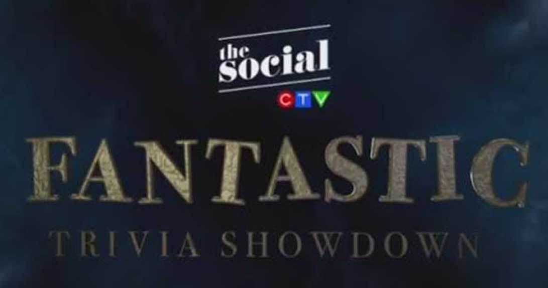 Fantastic Beasts trivia promo logo