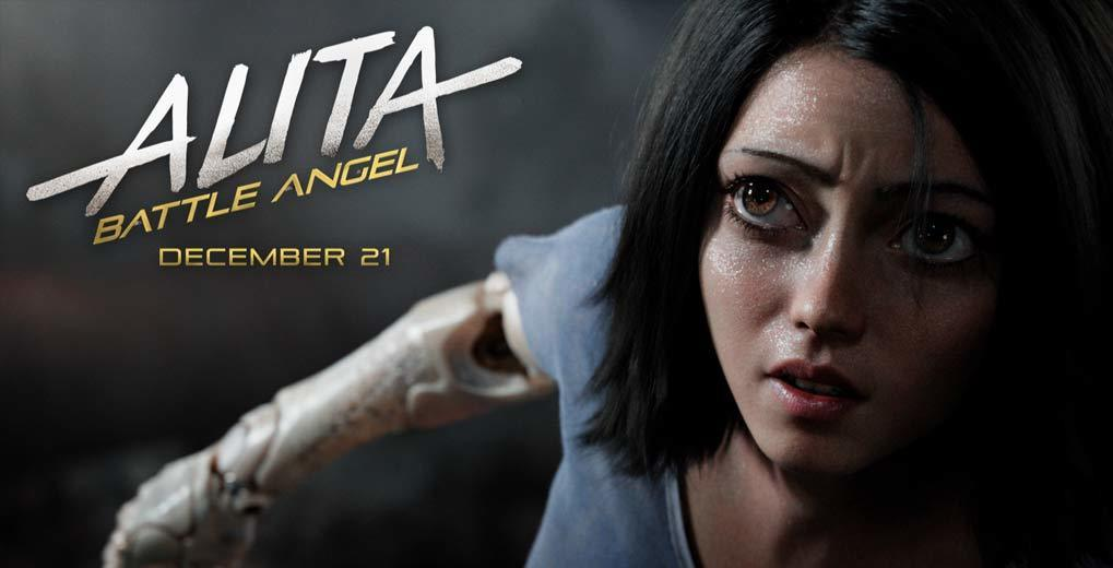 Alita Battle Angel movie promo