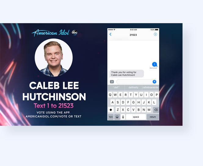 American Idol SMS Vote